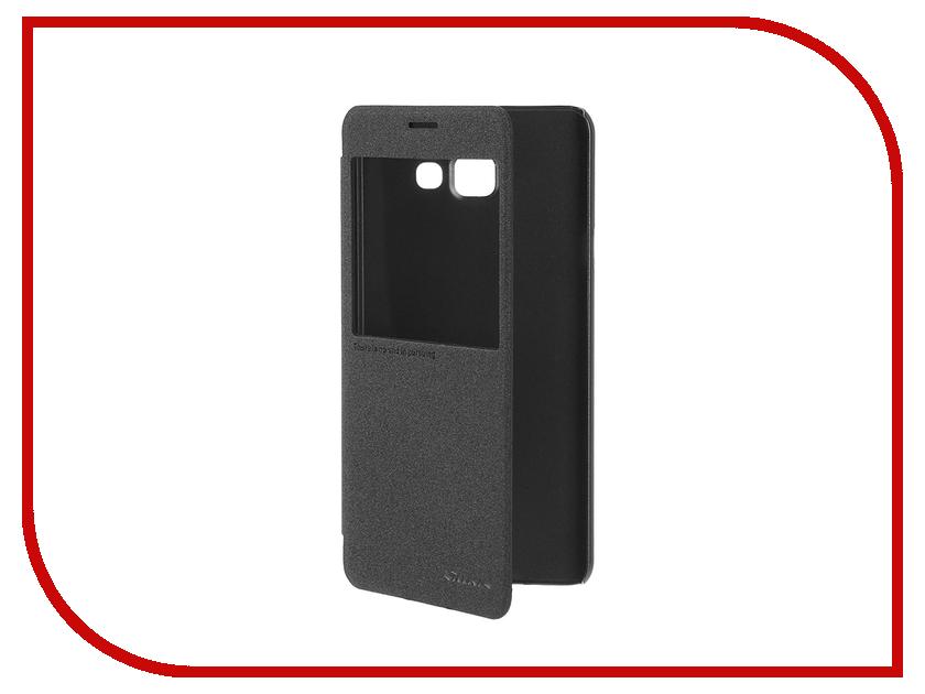 Аксессуар Чехол Samsung Galaxy A7 2016 A710 Nillkin Sparkle Black<br>