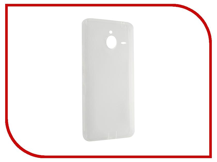 все цены на  Аксессуар Чехол Microsoft Lumia 640 XL Nillkin Nature TPU Transparent White  онлайн
