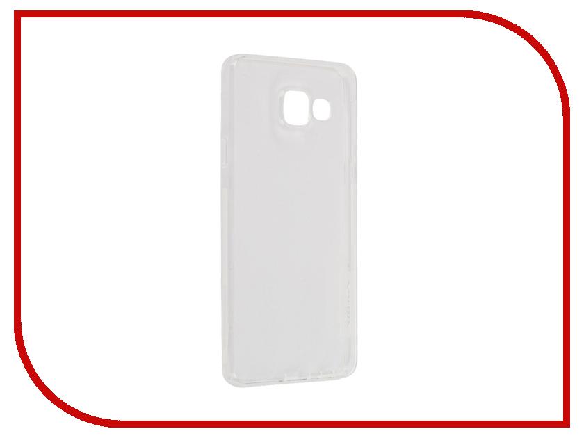 Аксессуар Чехол Samsung Galaxy A3 2016 A310 Nillkin Nature TPU Transparent White<br>