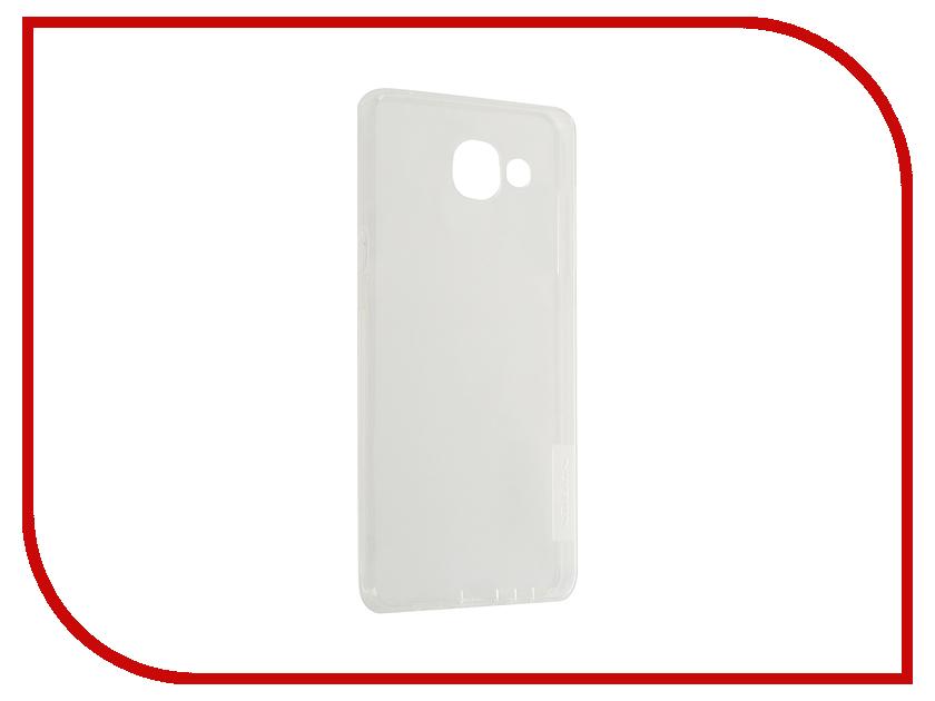 Аксессуар Чехол Samsung Galaxy A5 2016 A510 Nillkin Nature TPU Transparent White<br>