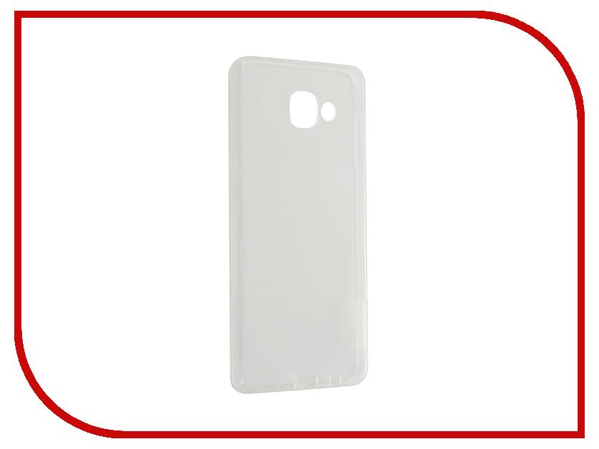 Аксессуар Чехол Samsung Galaxy A7 2016 A710 Nillkin Nature TPU Transparent White аксессуар чехол samsung galaxy a3 2017 cojess tpu 0 3mm transparent