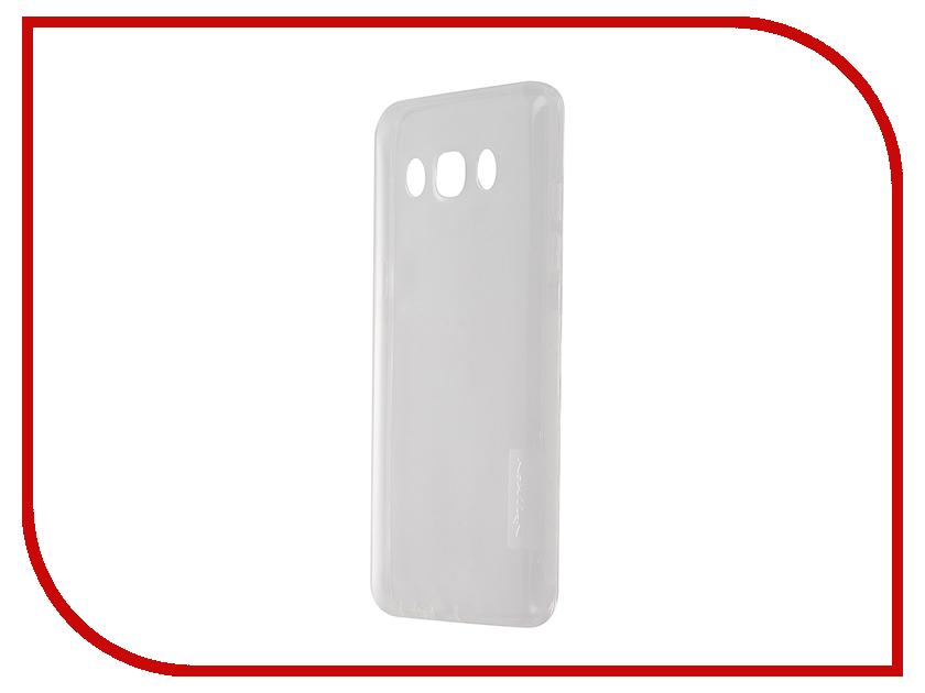 Аксессуар Чехол Samsung Galaxy J5 2016 Nillkin Nature TPU Transparent White<br>