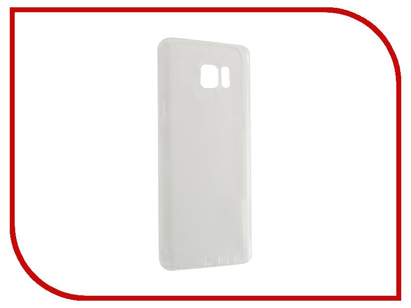 Аксессуар Чехол Samsung Galaxy Note 5 N920T Nillkin Nature TPU Transparent White<br>