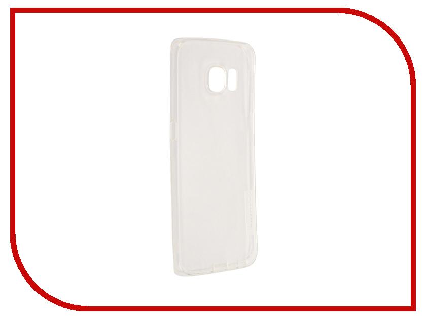 Аксессуар Чехол Samsung Galaxy S6 Edge G925F Nillkin Nature TPU Transparent White<br>