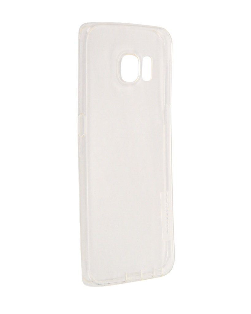 Аксессуар Чехол Samsung Galaxy S6 Edge G925F Nillkin Nature TPU Transparent White аксессуар чехол флип samsung galaxy s6 sm g920 brera slim white 47546