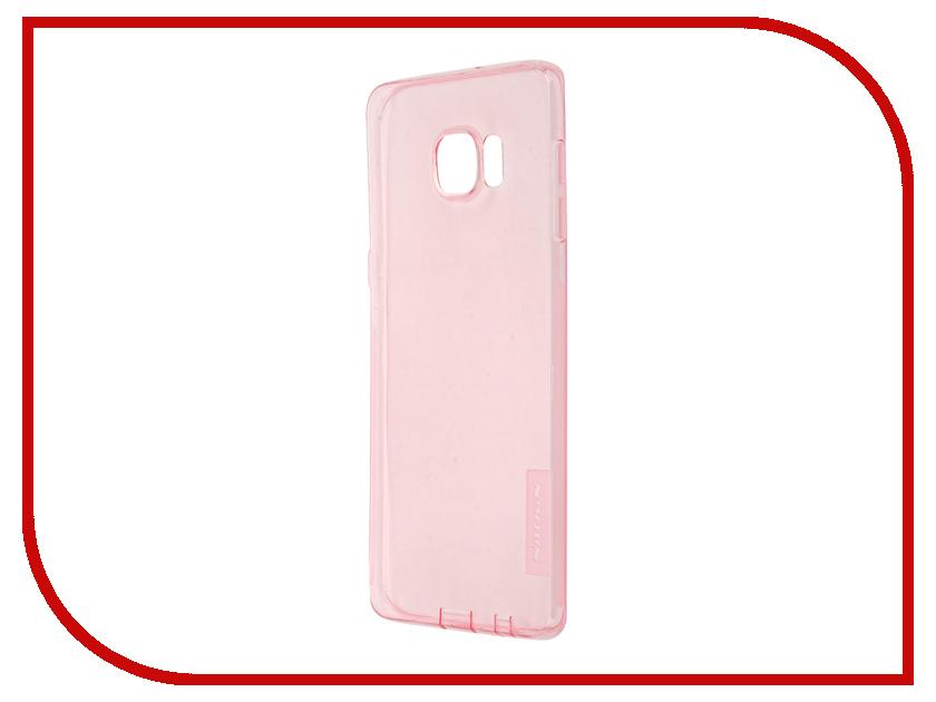 Аксессуар Чехол Samsung Galaxy S6 Edge+ G928T Nillkin Nature TPU Transparent Pink аксессуар чехол клавиатура samsung g928f galaxy s6 edge ej cg928rbegru