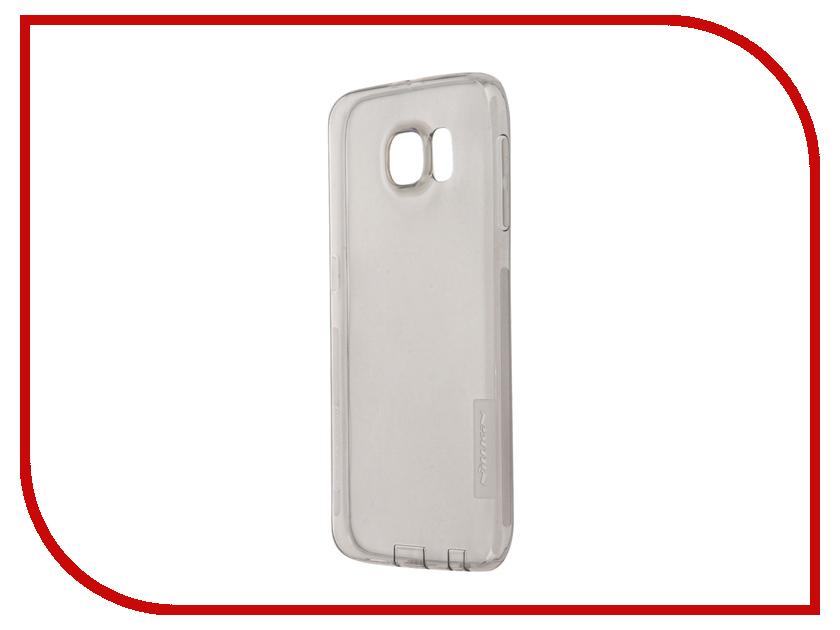 Аксессуар Чехол Samsung Galaxy S6 G920F Nillkin Nature TPU Transparent Black<br>