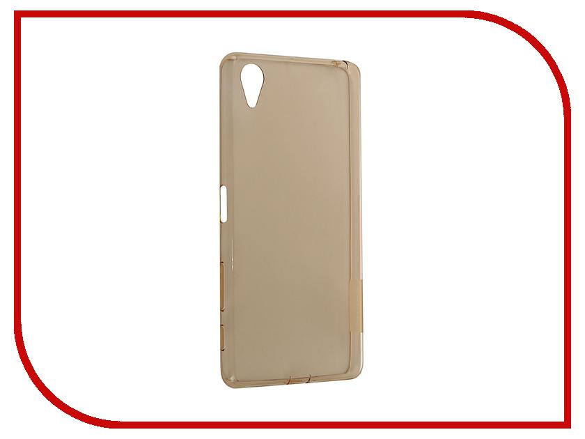 Аксессуар Чехол Sony Xperia X Performance Nillkin Nature TPU Transparent Gold<br>