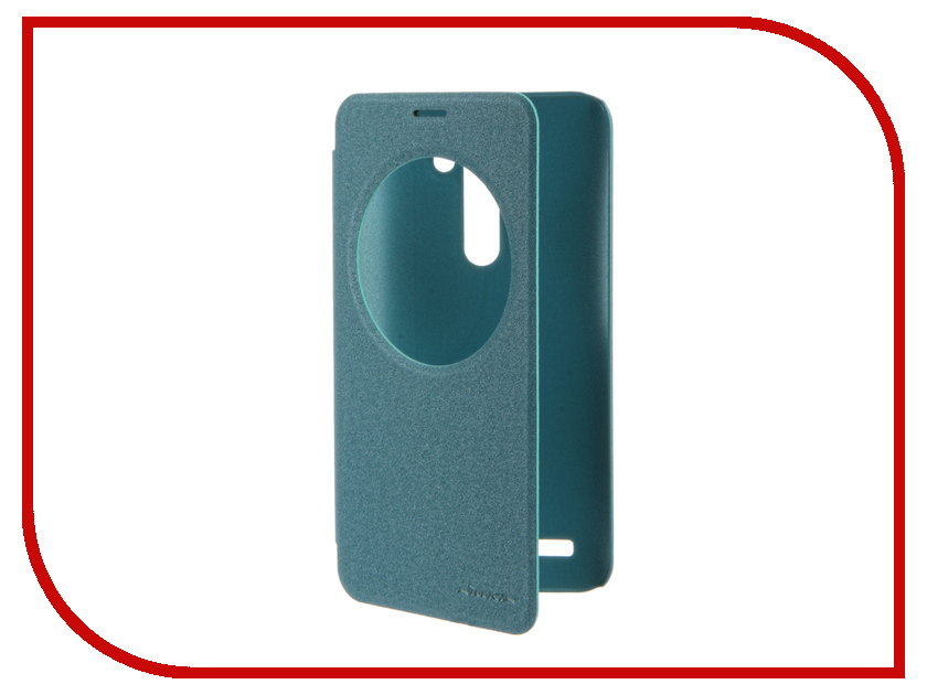 Аксессуар Чехол ASUS ZenFone Laser 2 ZE550KL/ZE551KL Nillkin Sparkle Blue<br>