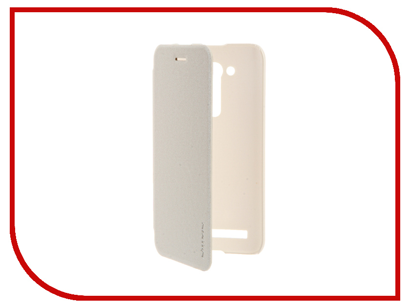 Аксессуар Чехол ASUS ZenFone Go ZB450KL/ZB452KG Nillkin Sparkle White<br>