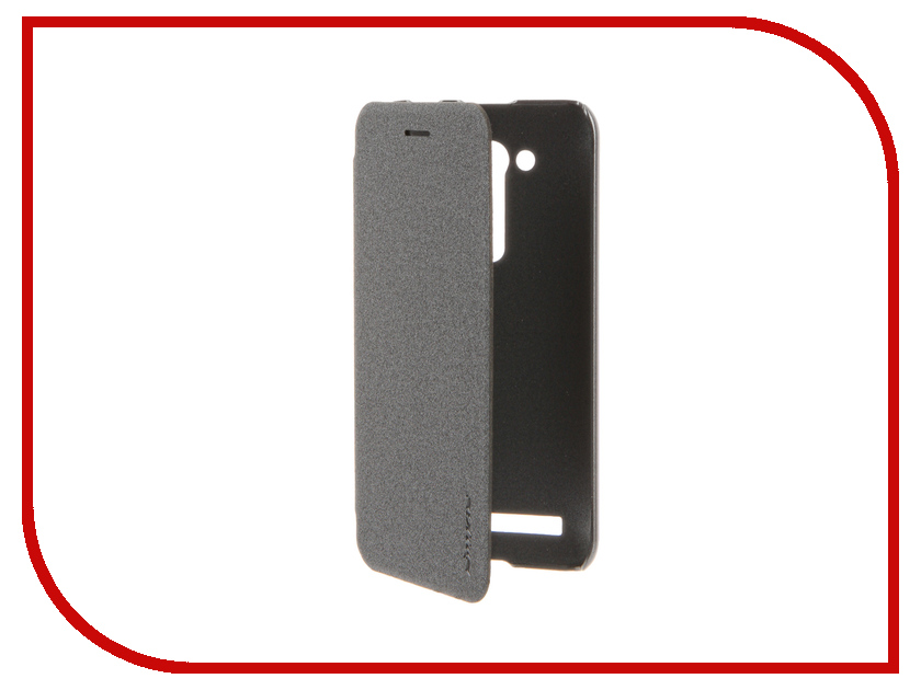 Аксессуар Чехол ASUS ZenFone Go ZB450KL/ZB452KG Nillkin Sparkle Black<br>