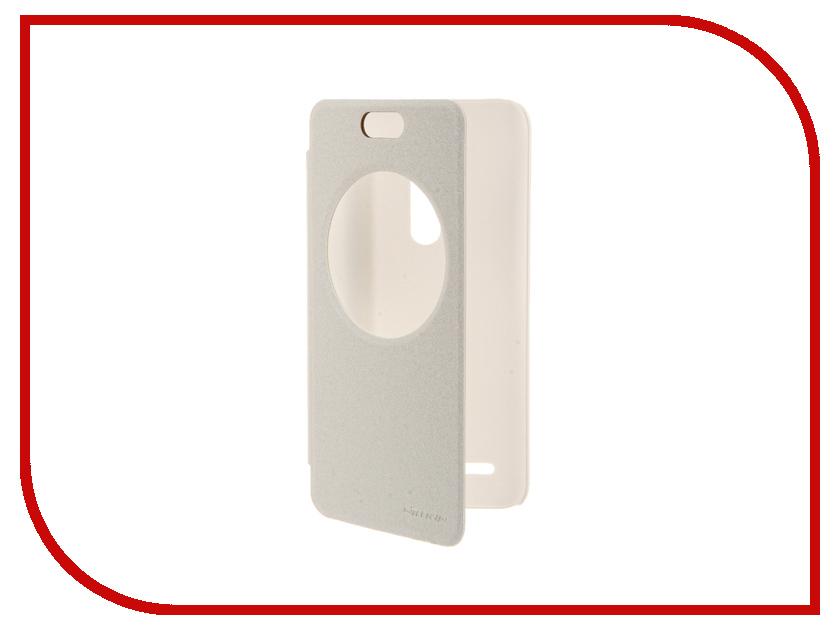 Аксессуар Чехол ASUS ZenFone Selfie ZD551KL Nillkin Sparkle White<br>