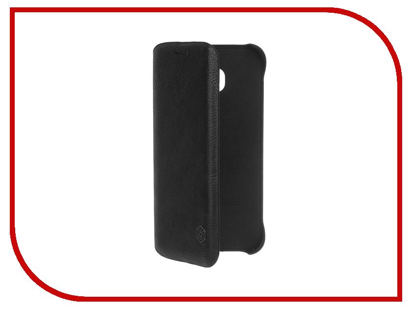 Аксессуар Чехол Samsung Galaxy S6 Edge G925F Nillkin Qin Black<br>