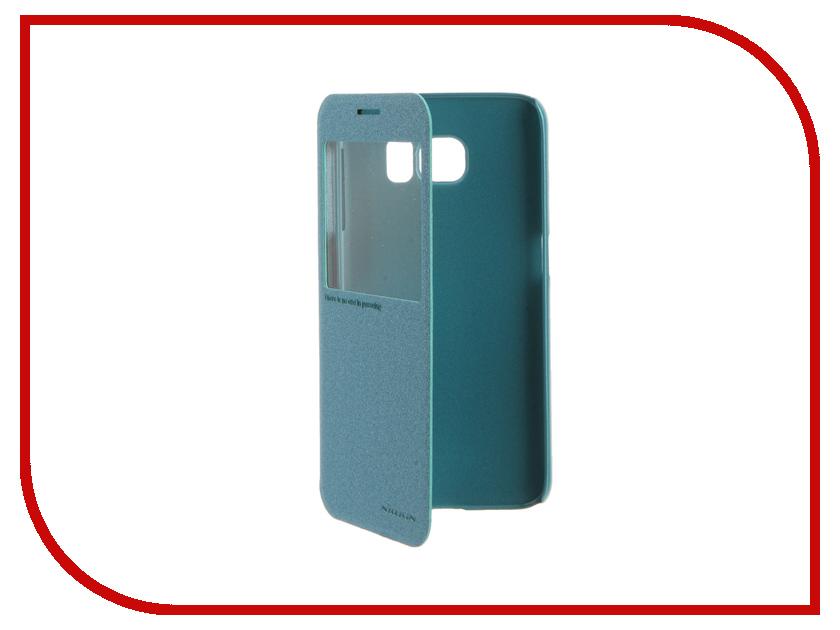 Аксессуар Чехол Samsung Galaxy S6 G920F Nillkin Sparkle Blue<br>