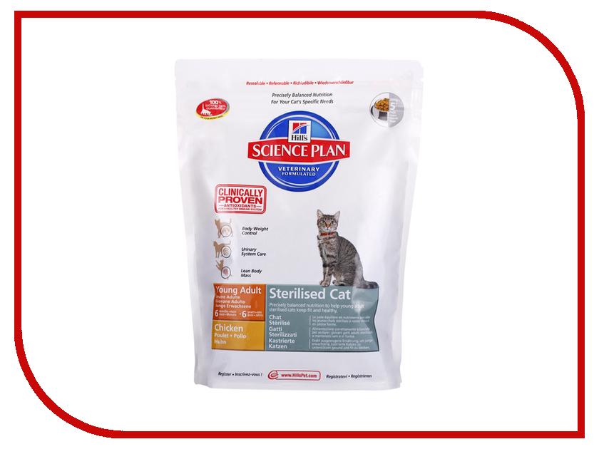 Корм Hills Science Plan Sterilised Cat Young Adult 300g для стерилизованных кошек 9338<br>