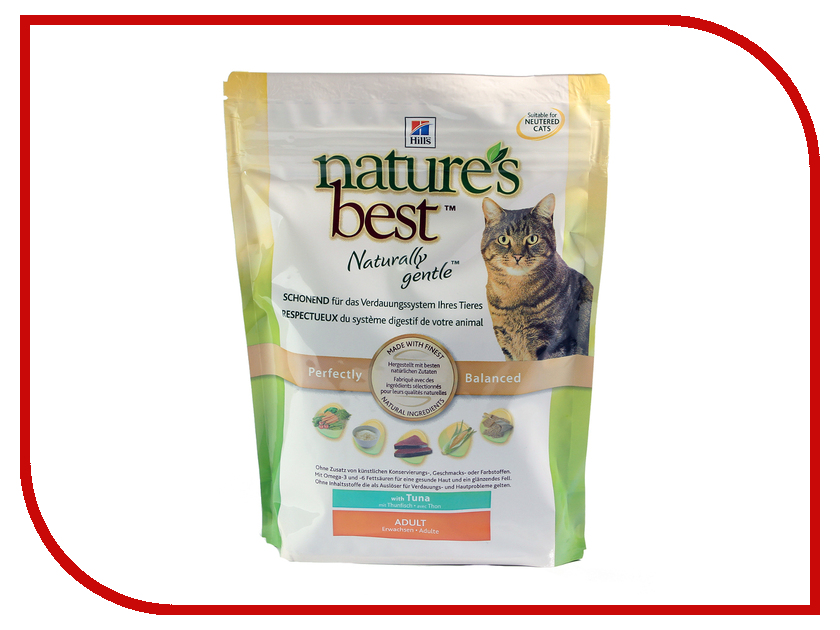Корм Hills Natures Best Тунец с овощами 300g для кошек 5268<br>