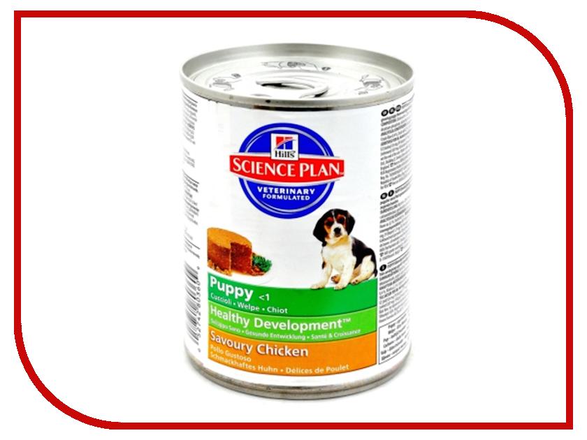 Корм Hills Science Plan Puppy Healthy Development Аппетитная курочка 370g для щенков мелких и средних пород 8036<br>
