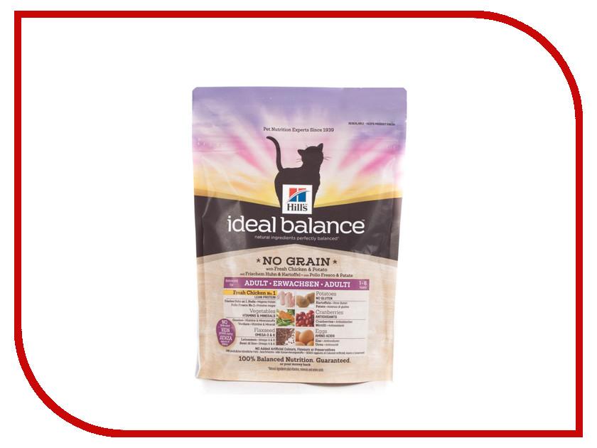 Корм Hills Ideal Balance Курица и картофель 300g для кошек 3225<br>