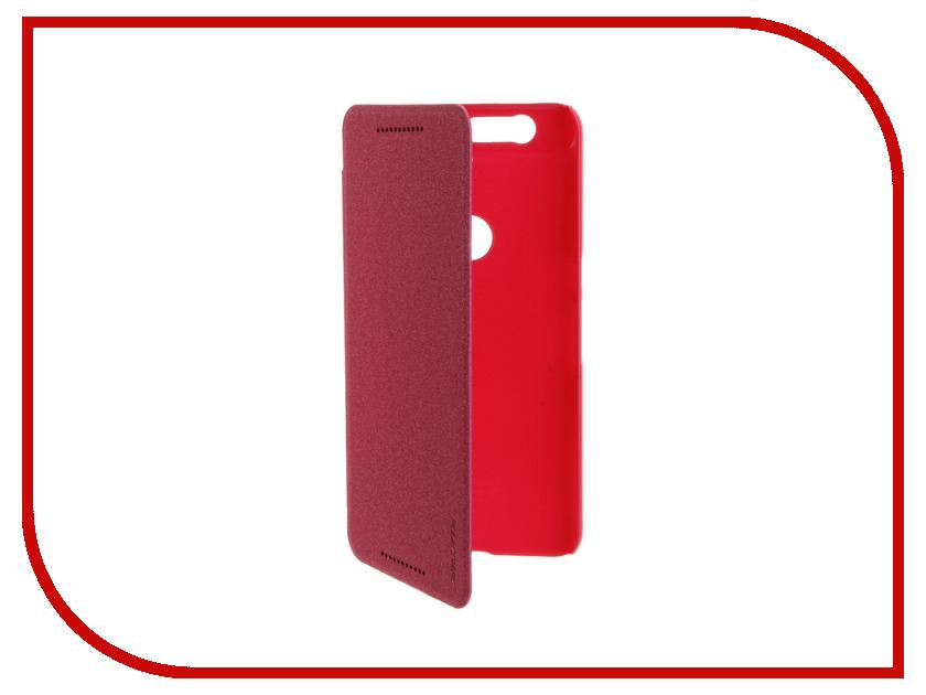 Аксессуар Чехол Huawei Nexus 6P Nillkin Sparkle Pink-Red<br>