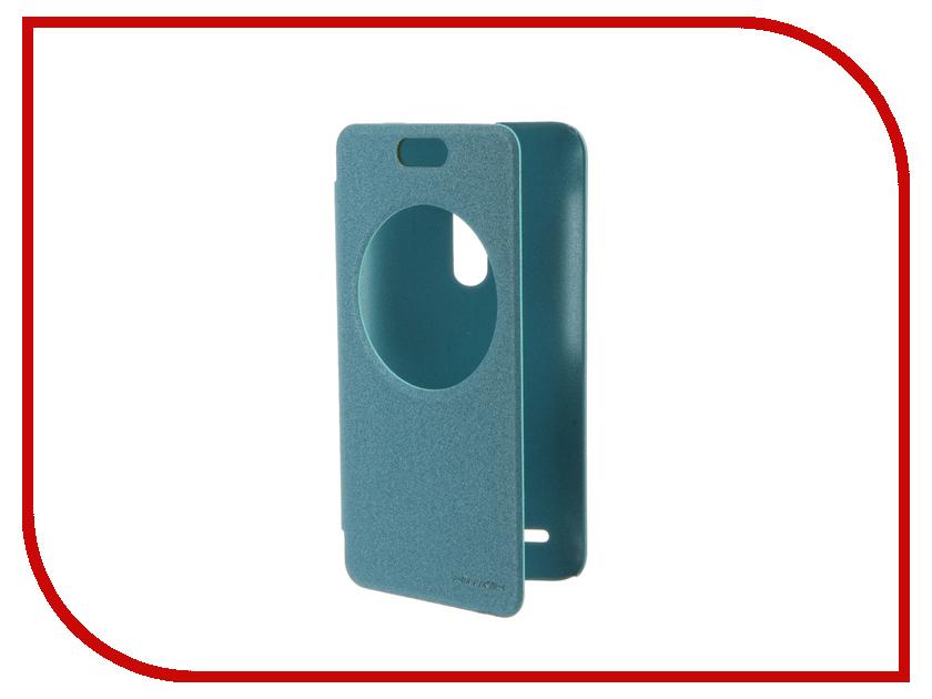 Аксессуар Чехол ASUS ZenFone Selfie ZD551KL Nillkin Sparkle Blue<br>