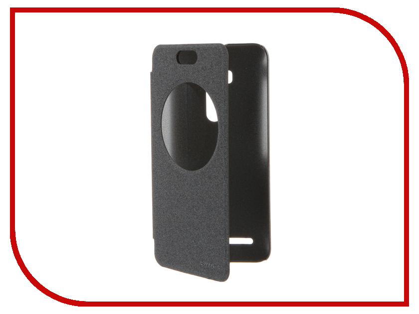Аксессуар Чехол ASUS ZenFone Selfie ZD551KL Nillkin Sparkle Black<br>