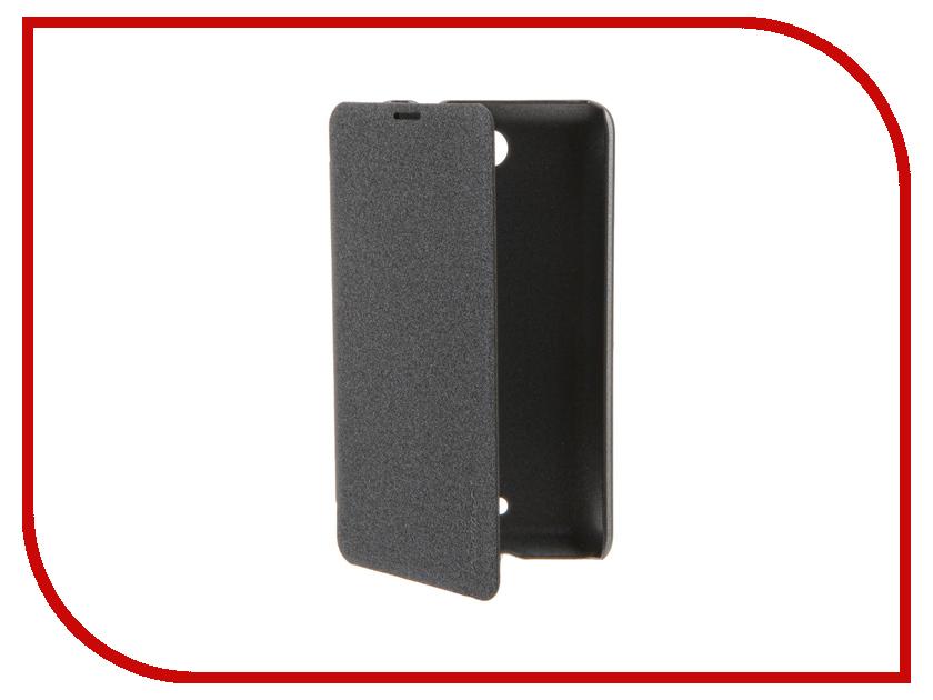 Аксессуар Чехол Microsoft Lumia 430 Dual Sim Nillkin Sparkle Black
