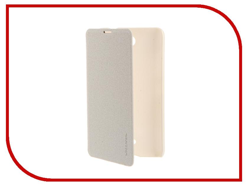 Аксессуар Чехол Microsoft Lumia 430 Dual Sim Nillkin Sparkle White