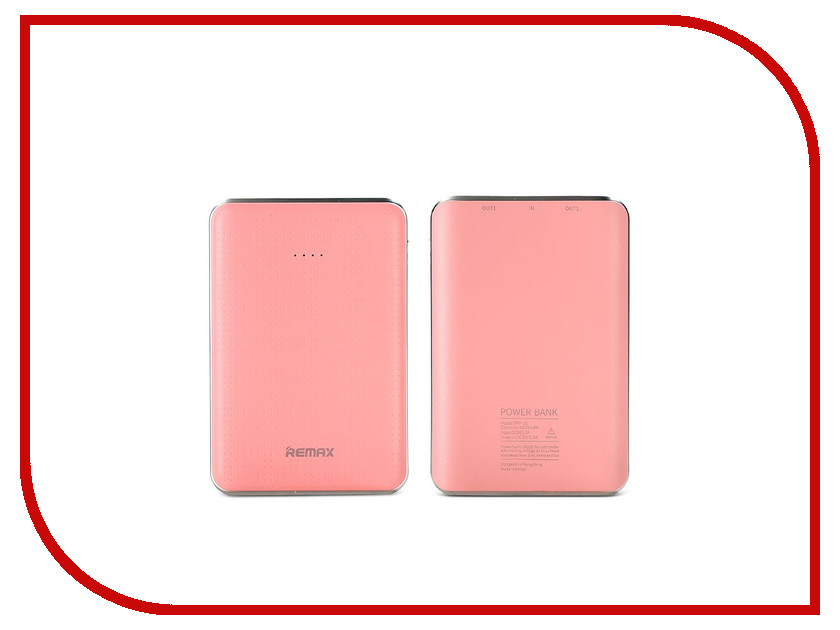 Аккумулятор Remax Tiger RPP-33 5000 mAh Pink Item RM1-028 61198<br>