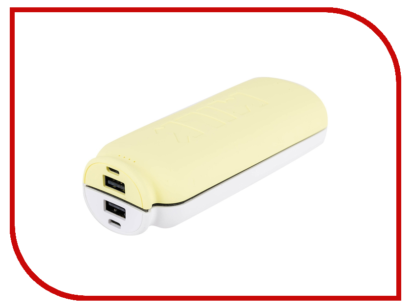 Аккумулятор Remax Milk RPP-28 11000 mAh White-Yellow 61193<br>