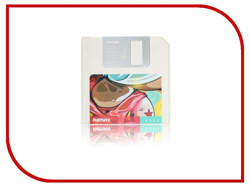 Аккумулятор Remax Floppy Disk RPP-17 5000 mAh White Item RM1-027 61187<br>