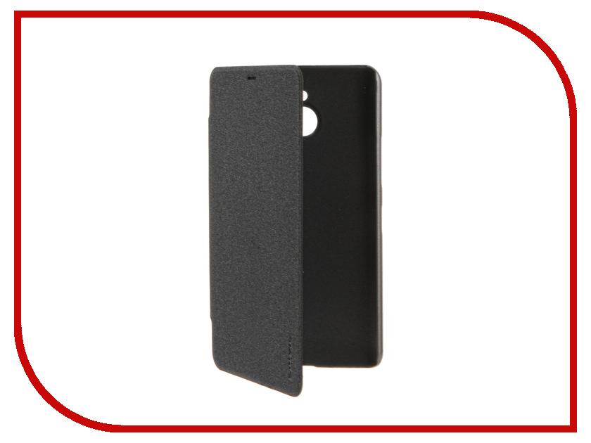 Аксессуар Чехол Microsoft Lumia 640 XL Nillkin Sparkle Black