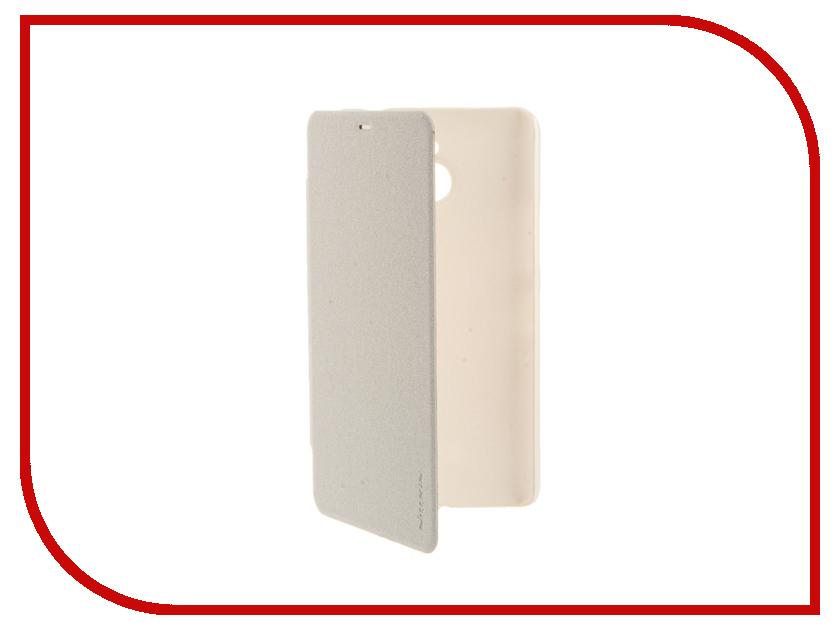 Аксессуар Чехол Microsoft Lumia 640 XL Nillkin Sparkle White