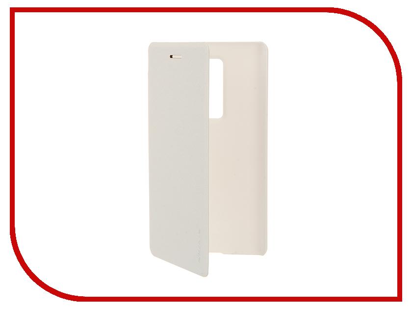 Аксессуар Чехол LG Class H650E/Zero Nillkin Sparkle White мобильный телефон lg class h 650 e серебристый