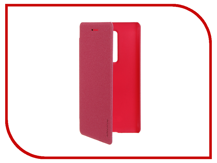Аксессуар Чехол LG Class H650E/Zero Nillkin Sparkle Pink-Red