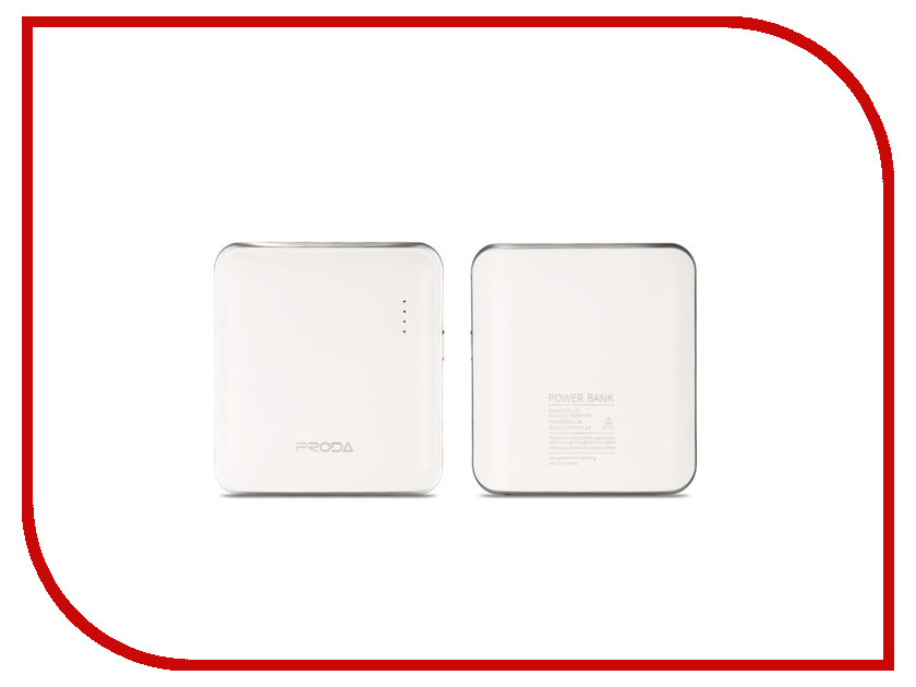 Аккумулятор Remax Proda Mink PPL-21 5000 mAh White 61169<br>
