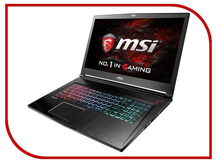 Ноутбук MSI GS73VR 6RF-037RU 9S7-17B112-037 Black Intel Core i7-6700HQ 2.6 GHz/16384Mb/2000Gb + 128Gb SSD/No ODD/nVidia GeForce GTX 1060 6144Mb/Wi-Fi/Bluetooth/Cam/17.3/1920x1080/Windows 10 bit<br>