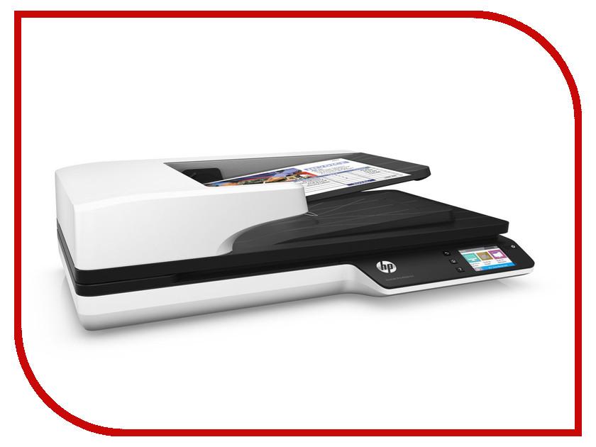 Сканер HP ScanJet Pro 4500 fn1 hewlett packard hp лазерный мфу печать копирование сканирование