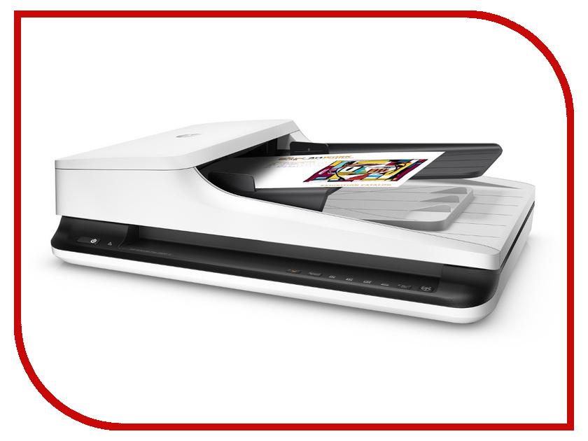 Сканеры 2500 f1  Сканер HP ScanJet Pro 2500 f1