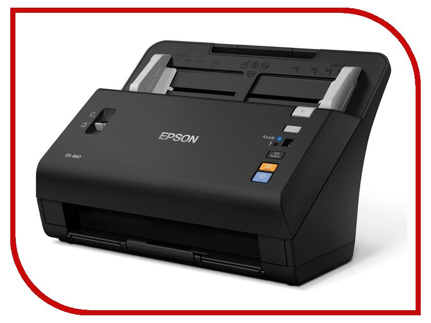 Сканер Epson WorkForce DS-860N<br>