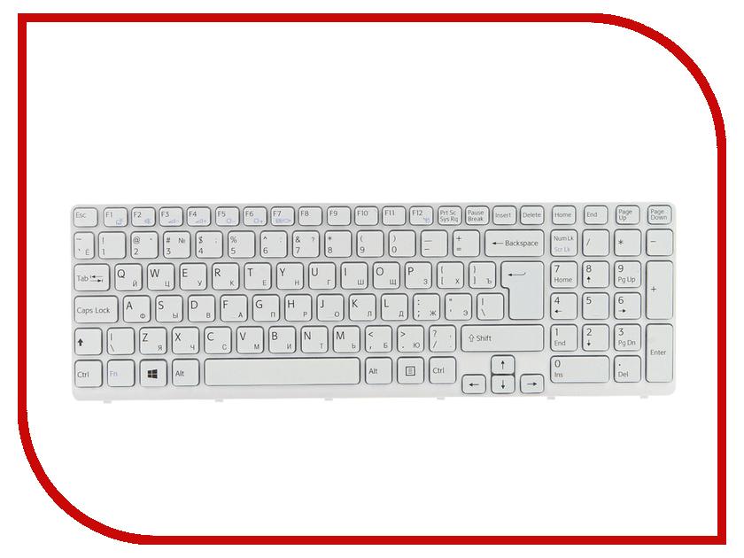 Клавиатура TopON TOP-100516 для Sony SVE15 / SVE17 / SVE1511S4C / SVE151 Series White