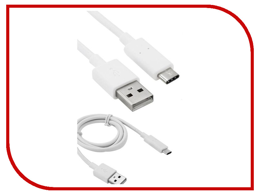 Аксессуар iQFuture USB Type C - USB Type A 1m IQ-USB3.0-typeC-A White 100436<br>