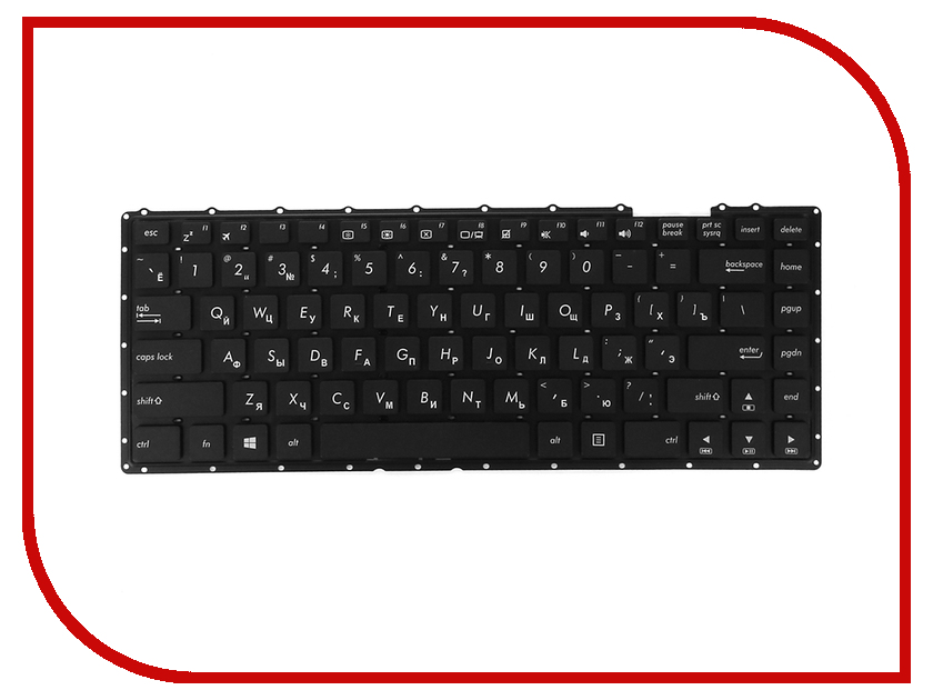 Клавиатура TopON TOP-100031 для ASUS X451C Series<br>