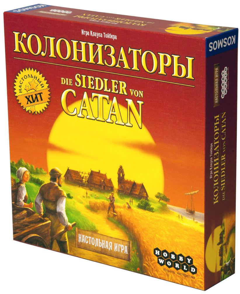 Настольная игра Hobby World Колонизаторы 1576