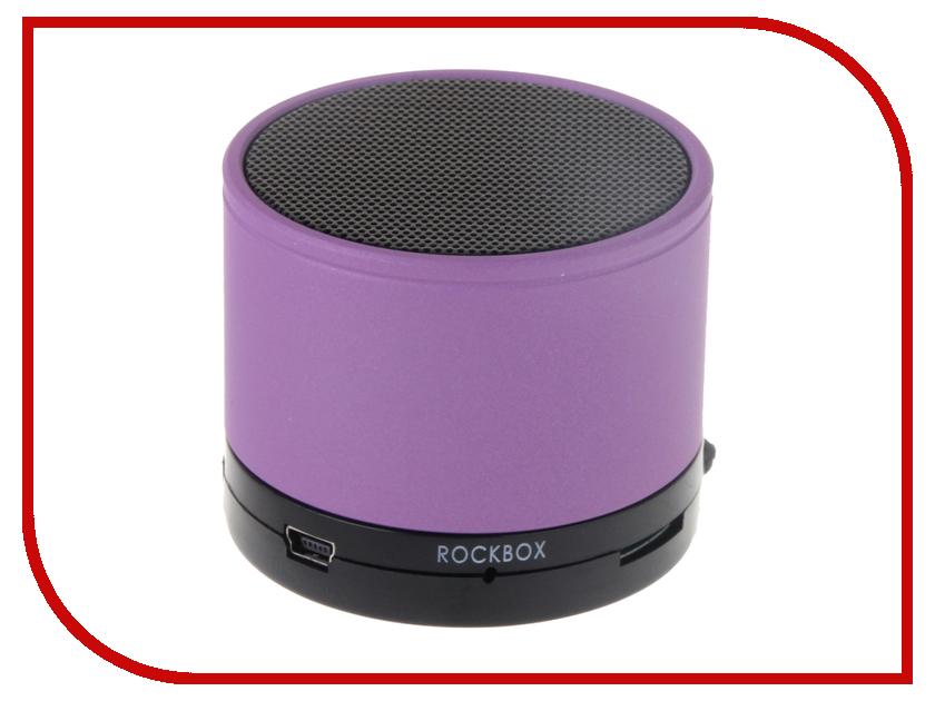 Колонка RockBox Round Frosted Purple 47243