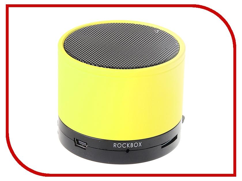Колонка RockBox Round Frosted Yellow 47247