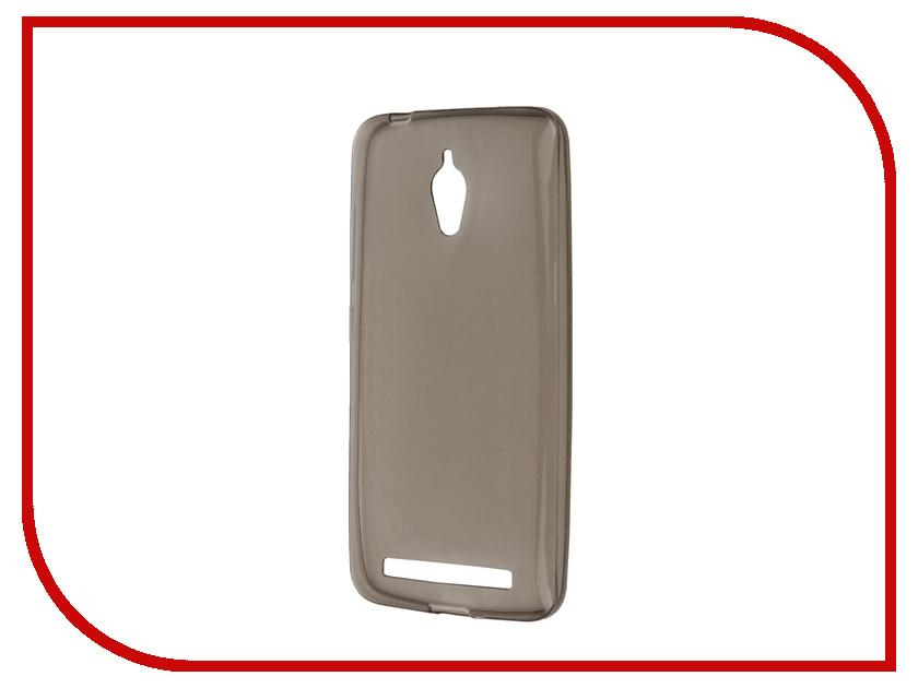 Аксессуар Чехол ASUS ZenFone Go ZC500TG Gecko Gray S-G-ASZC500TG-GRAY