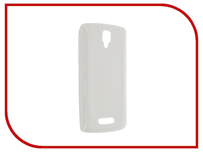Аксессуар Чехол-накладка Lenovo A1000 Gecko White S-G-LENA1000-WH<br>
