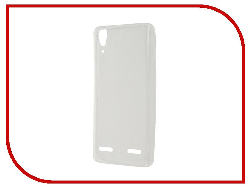 Аксессуар Чехол-накладка Lenovo A6010/6000 Gecko White S-G-LENA6000-WH<br>
