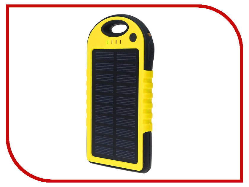Аккумулятор Solar ES-500 5000mAh Black-Yellow