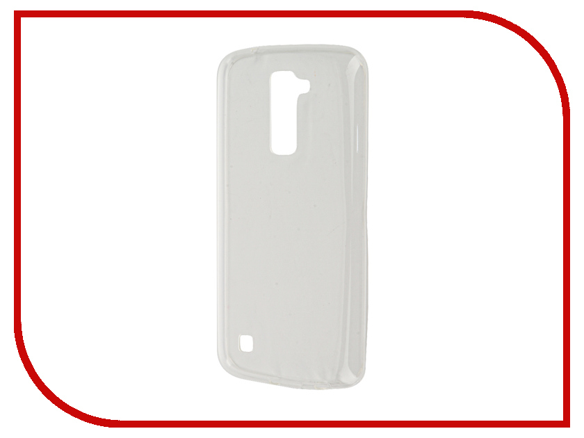 Аксессуар Чехол-накладка LG K10 K410/K10 LTE K430DS Gecko White S-G-LGK10-WH andao one size fits all